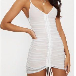 Pretty little thing white dress